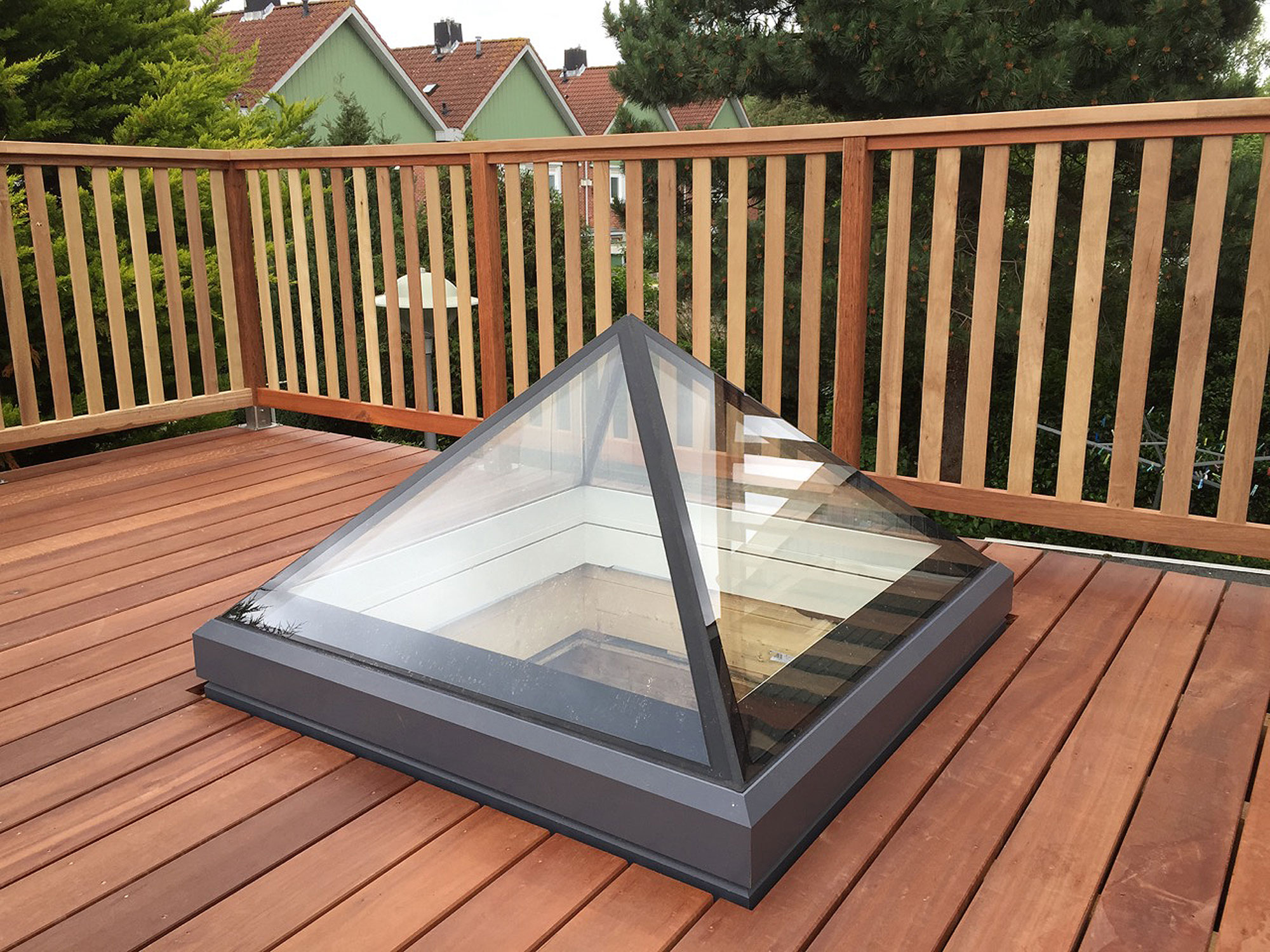 Pyramid Rooflight 2 - Scottish Crown Project