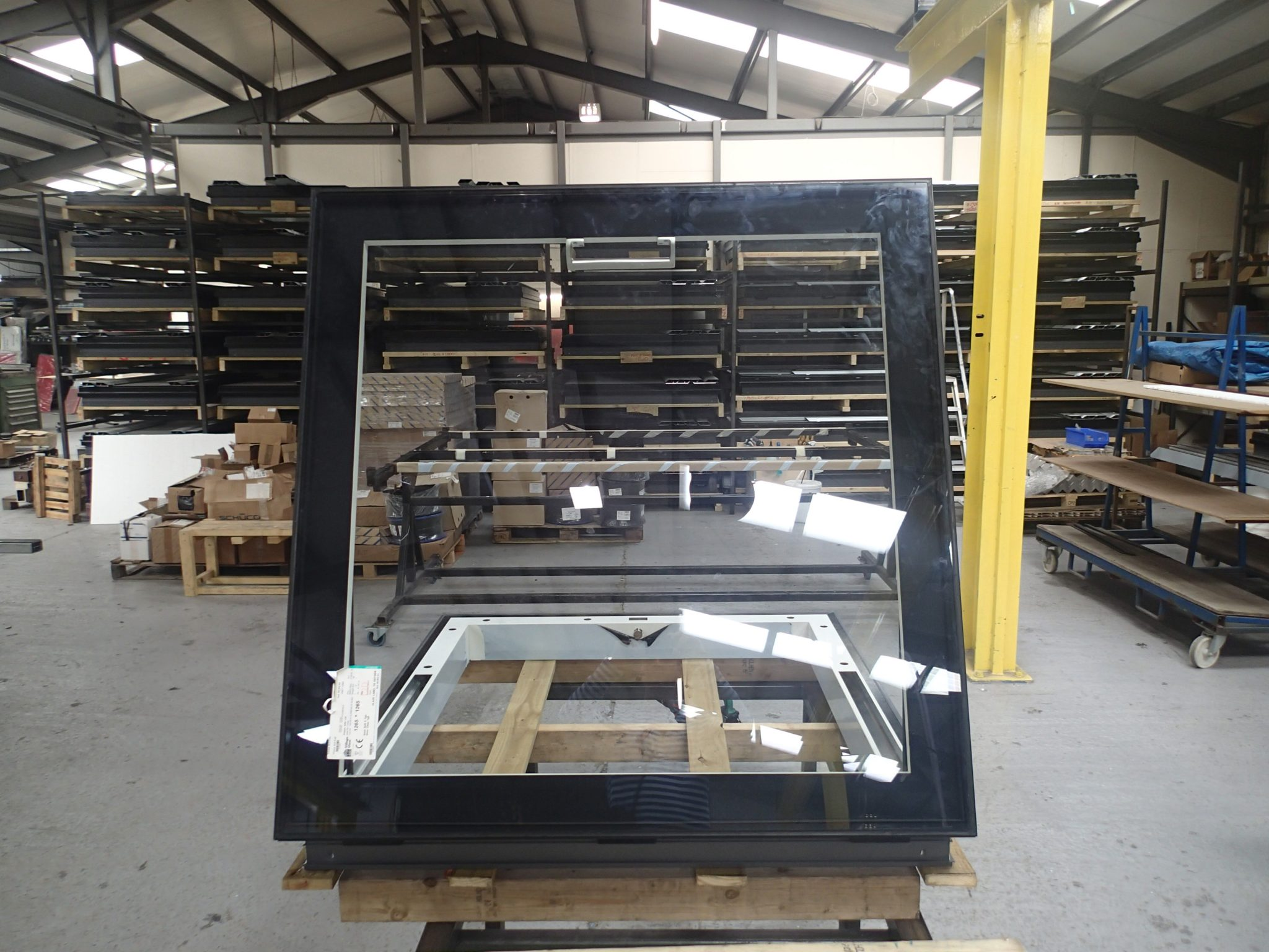 Fixed Rooflight Manufacturing