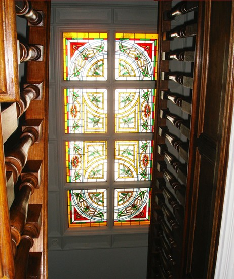 Ornate Stained Glass