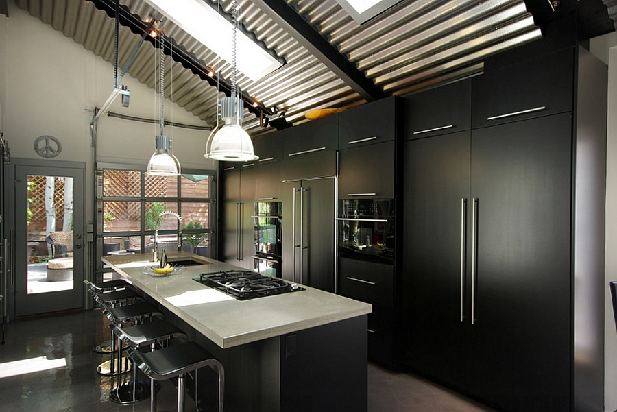Kitchen rooflights