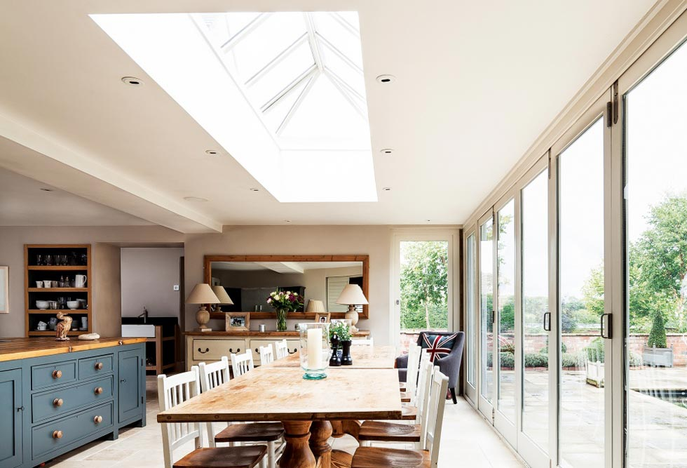 Rooflights Room By Room Kitchen Living In The Light