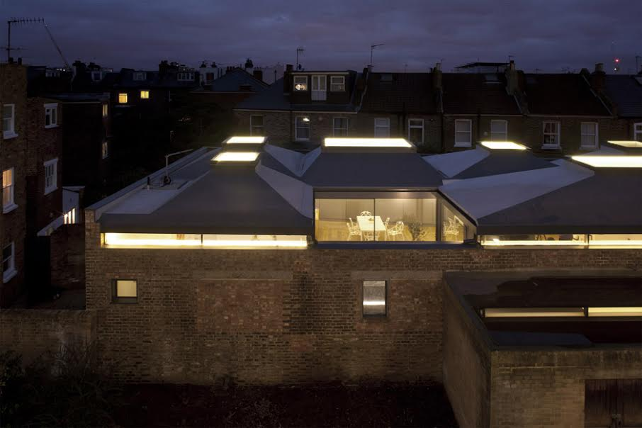 Glass roof tops