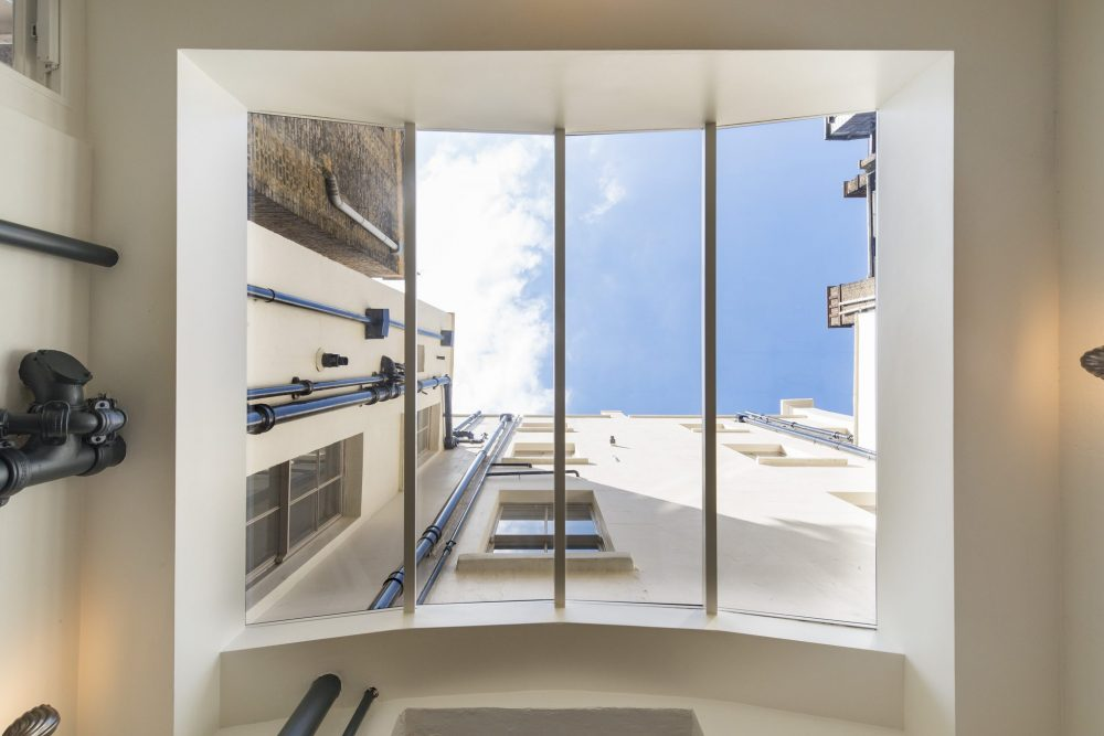 Multi-panel fixed skylight