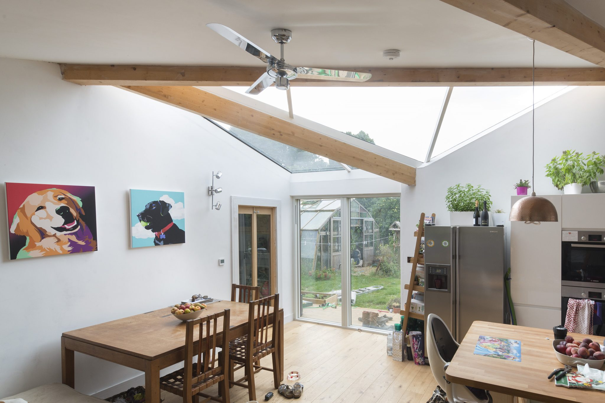 Bespoke Fixed Multi-Panel Skylight
