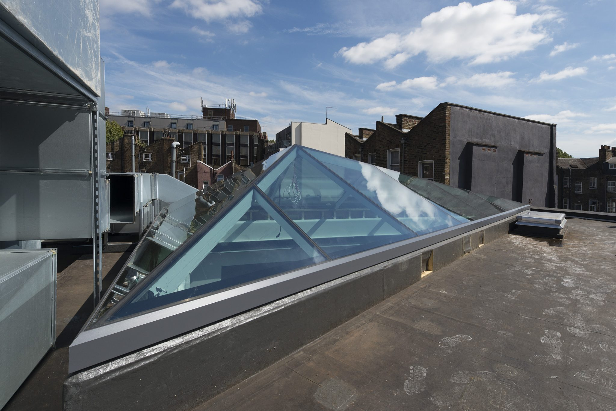 Bespoke Multi-Panel Fixed Rooflight