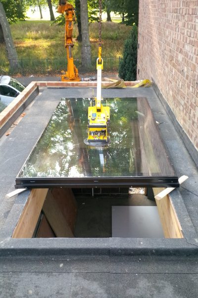 Fixed Rooflight Installation