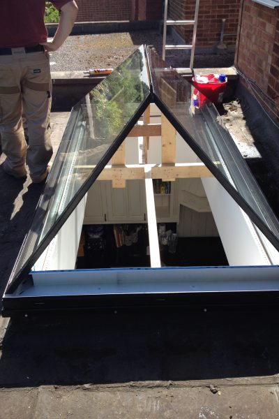 Lantern Rooflight Installation