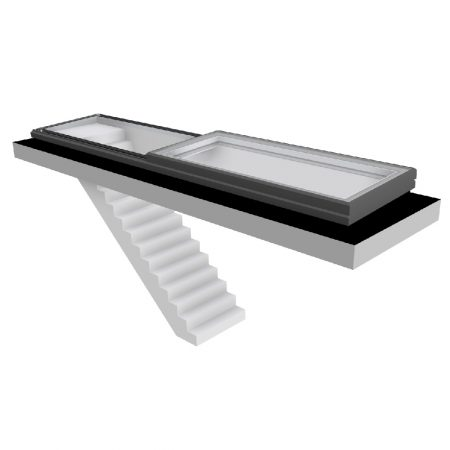 Vision AGI Slide Over Fixed Rooflight
