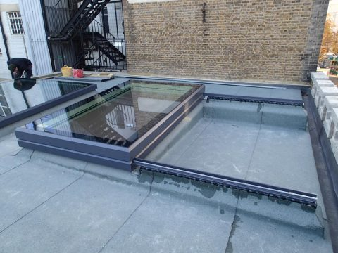 A Vision AGI Sliding Rooflight In Situ