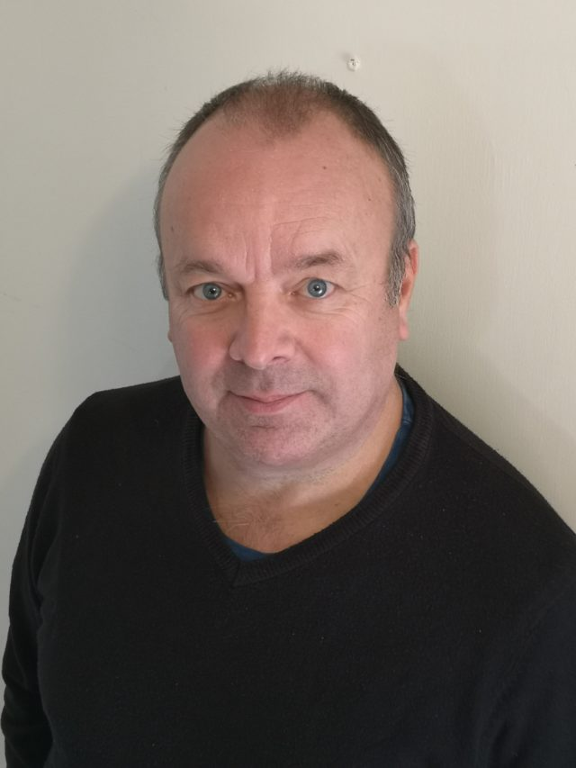 Alan Saxby Technical Specifications Manager