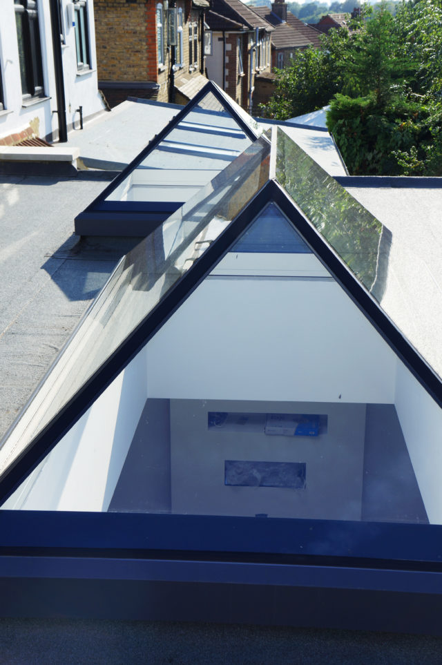 Lantern Rooflights provide daylight from all angles