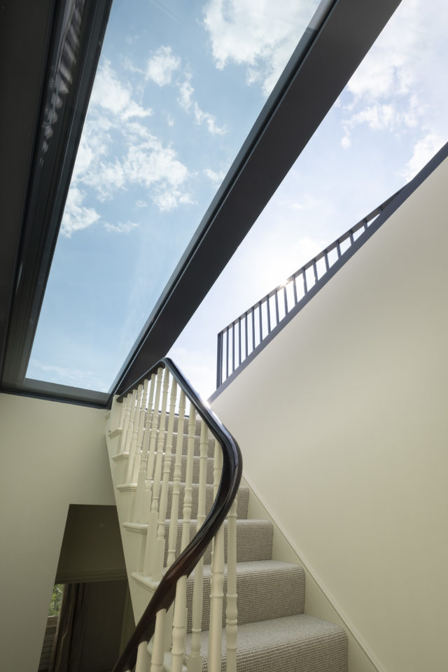 Sliding Rooflights give greater access to roof terraces