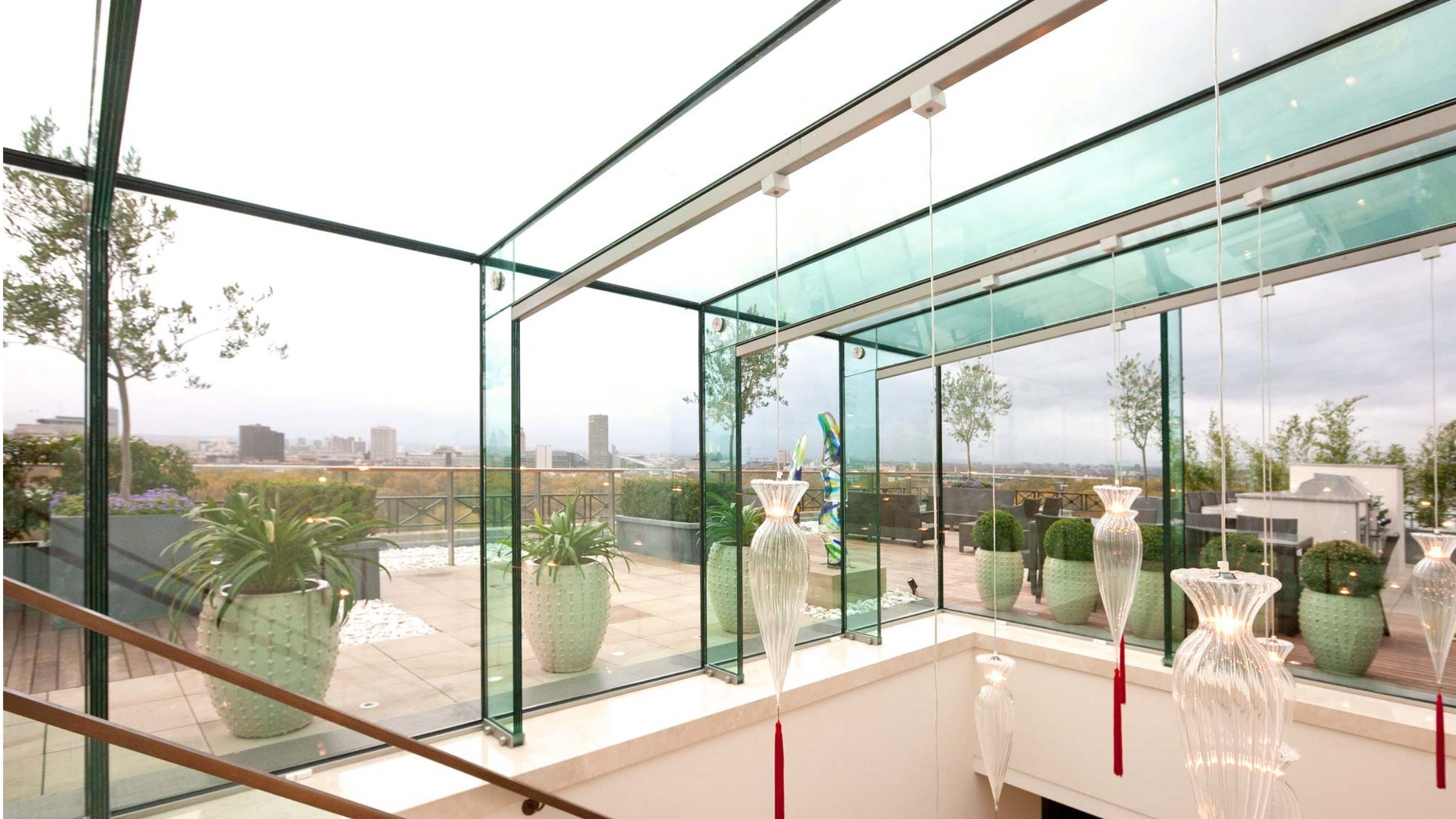 A Structural Glass Box Extension